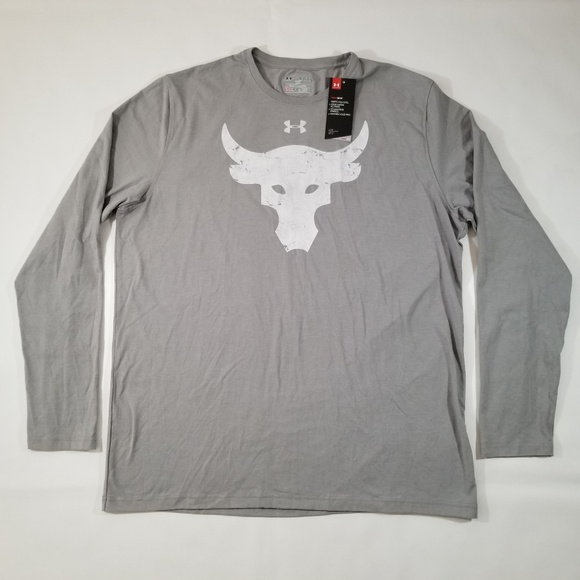 116459e1ffa4 Under Armour X Project Rock Brahma Bull Shirt XL